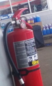 To learn about fire extinguishers, click here.