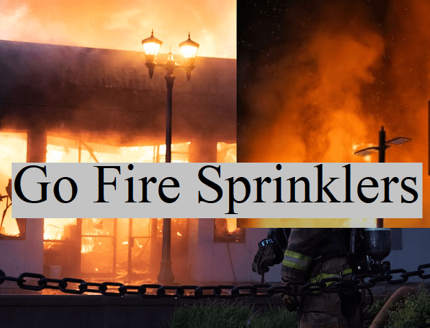 fire sprinklers save property and many times lives. (image)