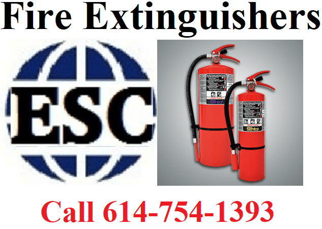 Call ESC for fire extinguishers and training (image)