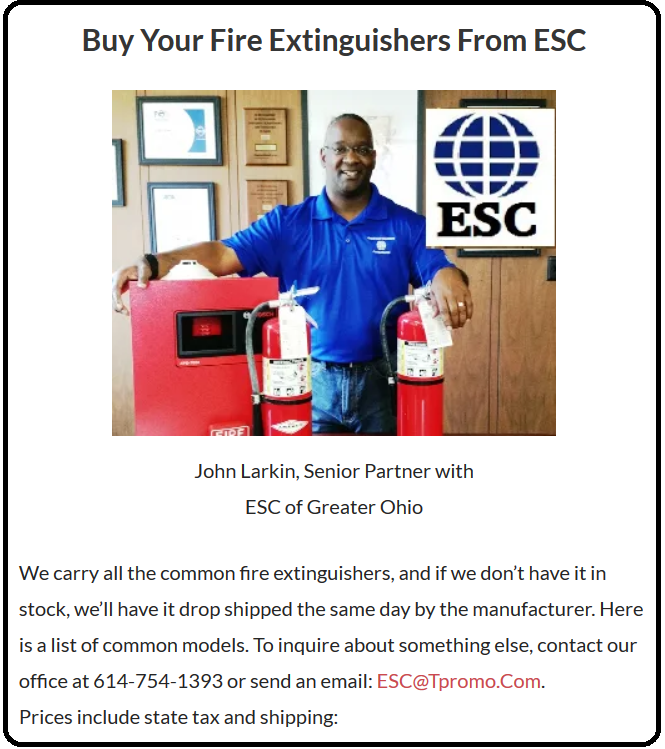 Buy Your Fire Extinguishers From ESC (imagge)