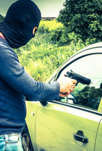 What to do when facing a carjacker. (image)