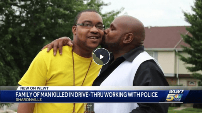Family members beg for answers, police narrowing suspect search in deadly drive-thru shooting  Sharonville police say Michael Brice, 32, died outside Rally's (image)