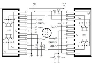 A3952S stepper motor controller circuit diagram