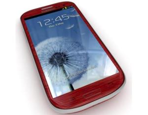 Samsung+i9300+Galaxy+S3+Garnet+Red
