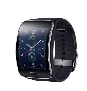 Samsung Gear S-Blue Black-2