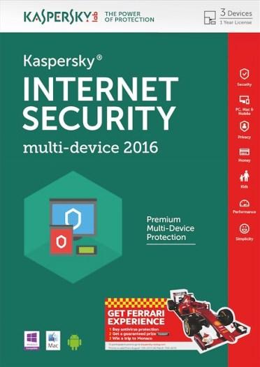 Kaspersky Internet Security 2016