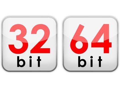 32 y 64 BITS