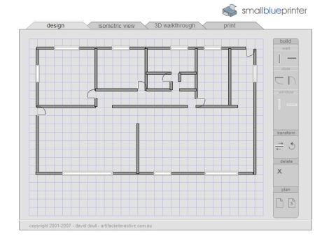 Creador de planos para viviendas y locales electrorincon for Creador de planos sencillos para viviendas y locales