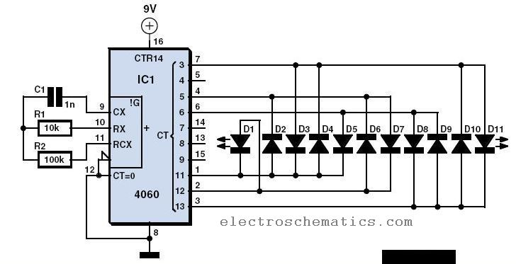 Led Christmas Lights Schematic Diagram
