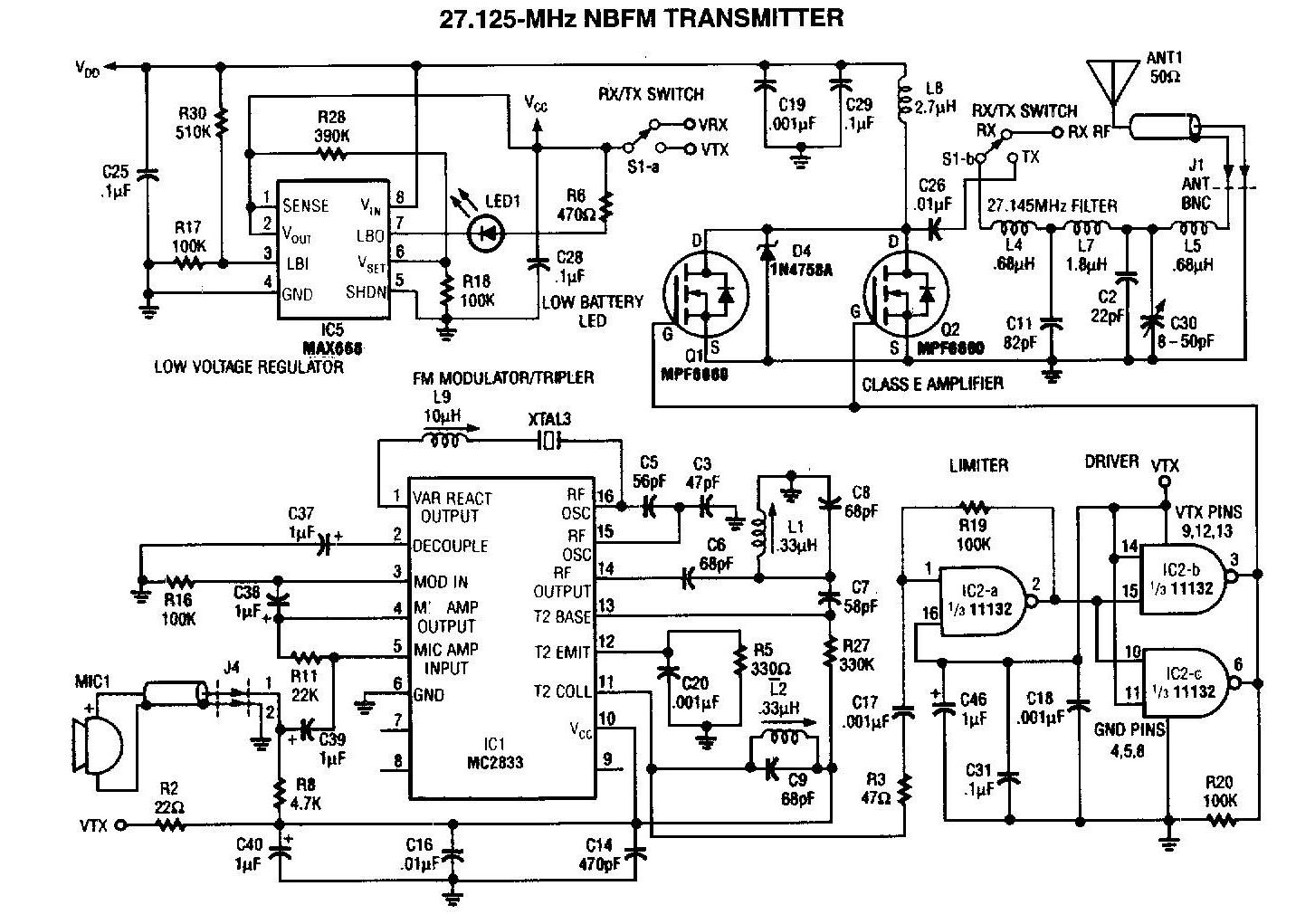 Small Tv Transmitter Circuit