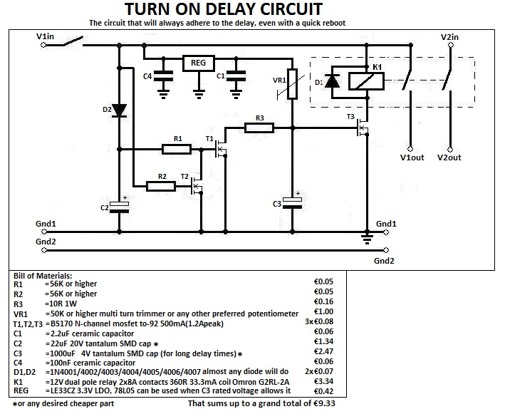 Timer Delay Relay Wiring Diagram - Wiring Diagram