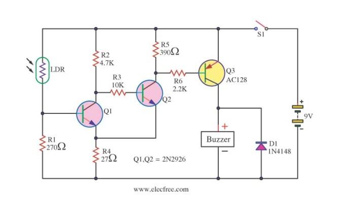 diy ldr switch circuits