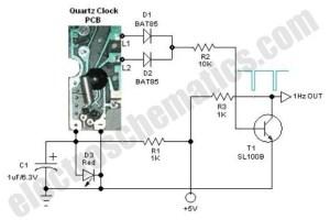Quartz 1Hz Generator