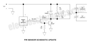 Security Light & Switch with PIR Sensor Update