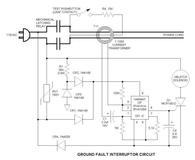 gfi ground fault interrupter wall wart