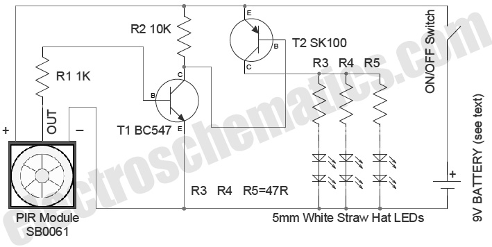 Electrical Wiring Diagrams Security Lighting Nilzanet – Security Light Wiring Diagram