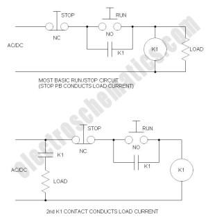 RunStop Relay Circuit
