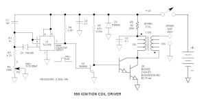 555 Ignition Coil Driver Circuit