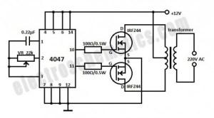 DC to AC Inverter  12V to 220V Inverter