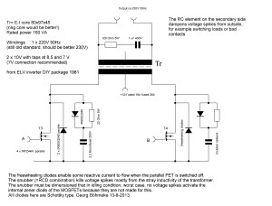12V DC to 220V AC Inverter
