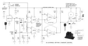 6V, 24V, 48V External Battery Charger Control