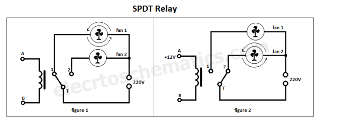 220 volt single pole double throw switch wiring diagram