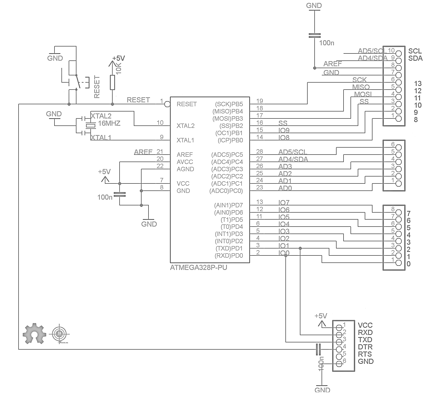Arduino Schematic Accessories