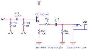 ElectroSmash  Boss DS1 Distortion Analysis
