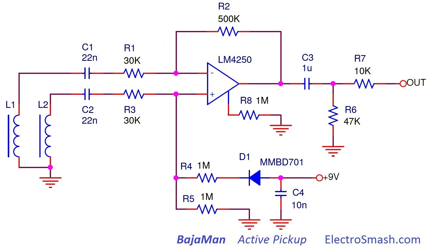 Seymour Duncan Active Wiring Diagram