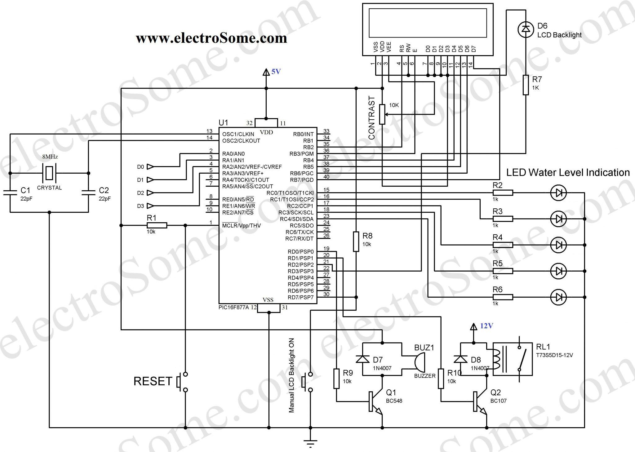 Room Monitoring Wiring Diagram