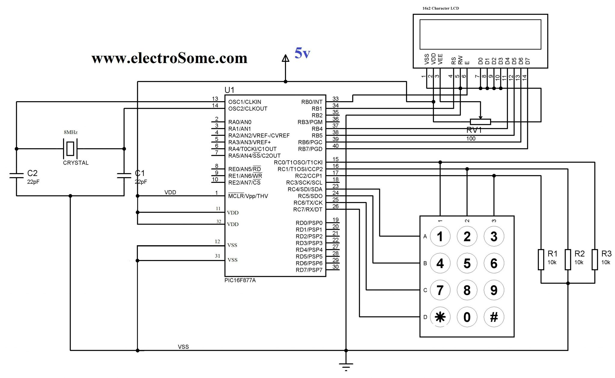 Matrix Keypad with MikroC Library?resize\=665%2C409 diagrams 1079708 kenwood to mustang wiring harness 2013 mustang mustang wiring harness diagram at bayanpartner.co