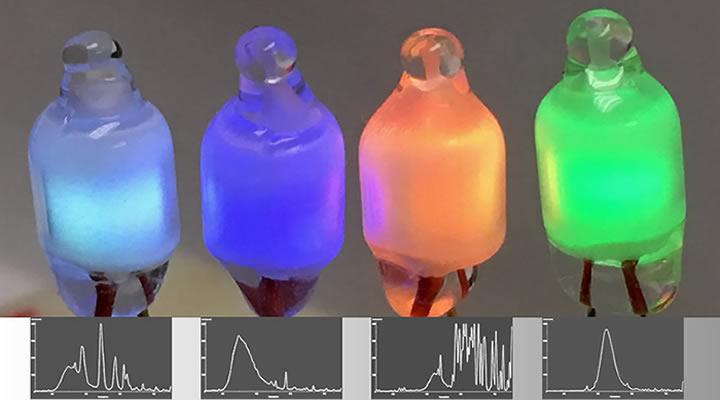 Neon Bulb Emits Light Because