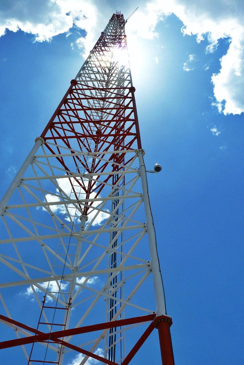 Fabricación de torre autosoportada de telecomunicaciones