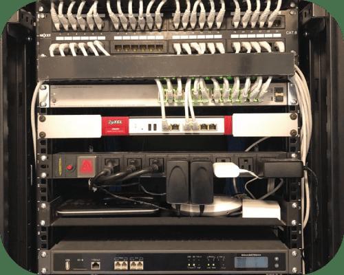 Instalación de cableado estructurado y datacenter