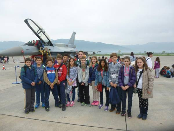 Τα παιδιά του Δωρίου στην αεροπορική επίδειξη