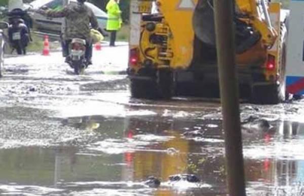 Με δημοτικά μέσα η αποκατάσταση αγροτικών δρόμων στην Τριφυλία