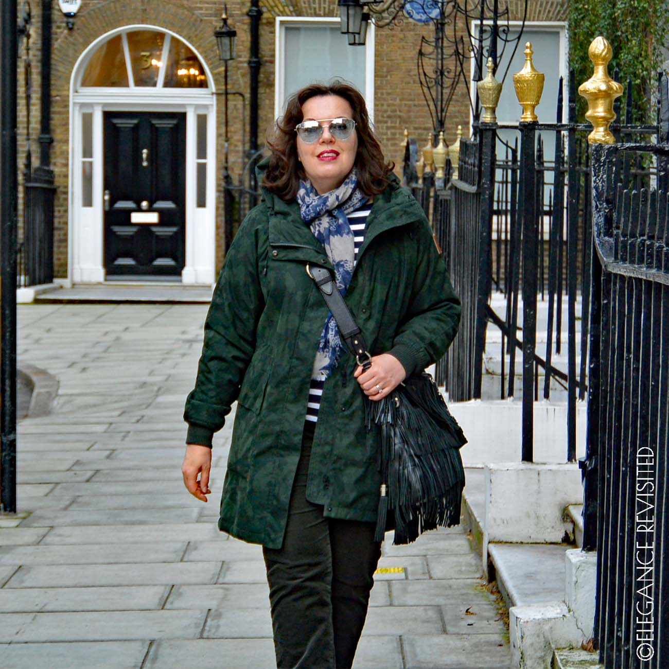 how to wear a parka over 50