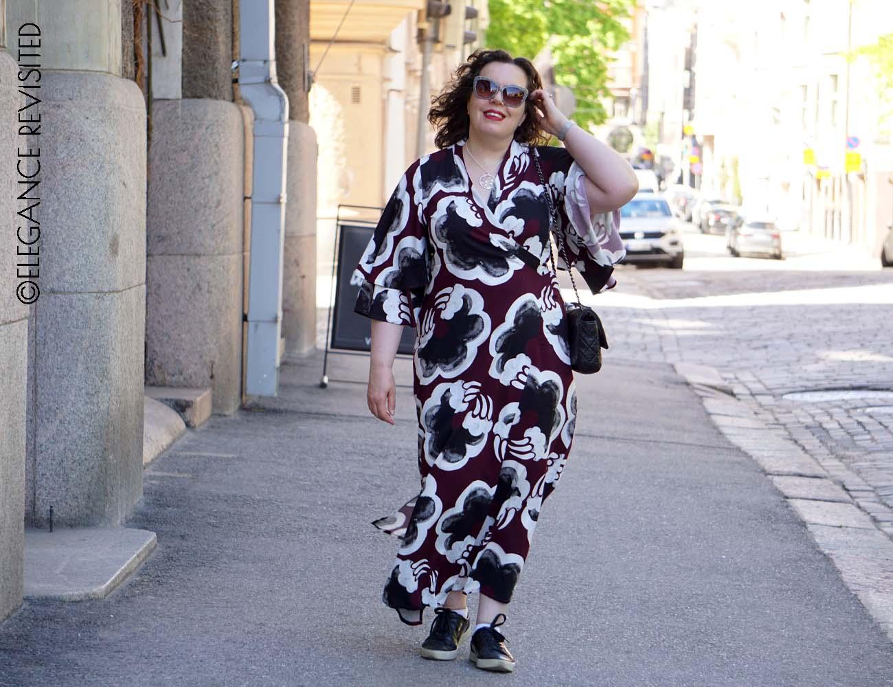 maxi dress over 50