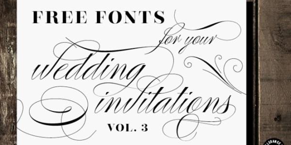 free wedding fonts # 67