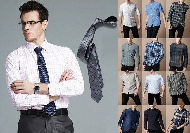 Camisas hombres slim-fit, regular-fit y classic-fit Foto:  www.primarkonlineshopping.net