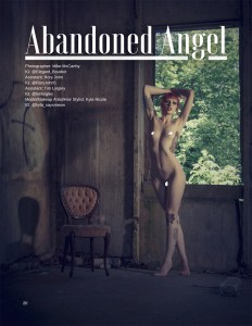[NSFW] Abandoned Angel - NUVU Magazine # 60