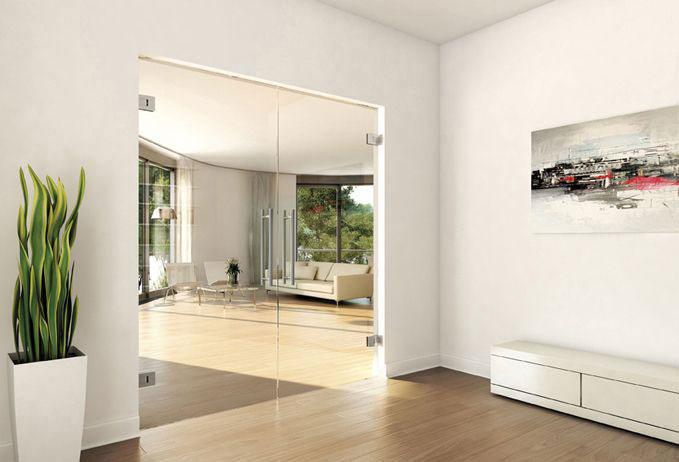 frameless glass doors made to order