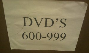 DVD's vs DVDs big error.