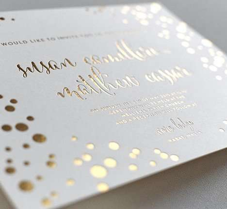 Letterpress Uk Wedding Invitations