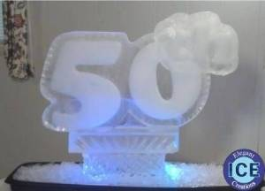 50th Ice Sculpture