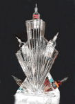 Vodka Rack Ice Sculpture