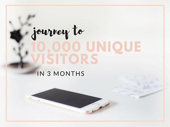 Fashion Blog Traffic Strategy: My Journey to 10,000 Unique Visitors in 3 Months from Elegantly Fashionable
