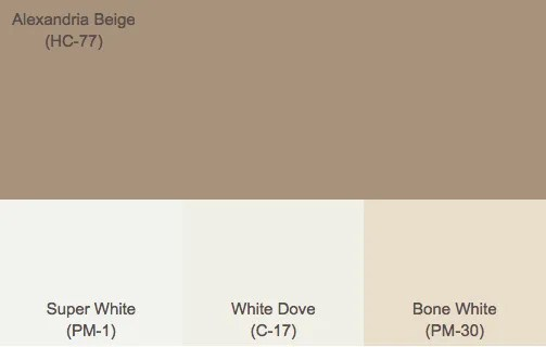 brown exterior paint colors