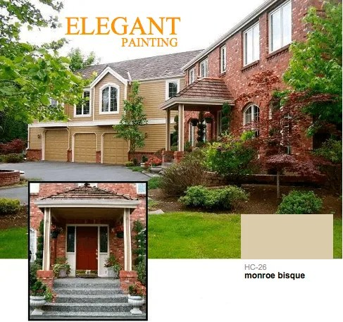 brown exterior paint colors 98052