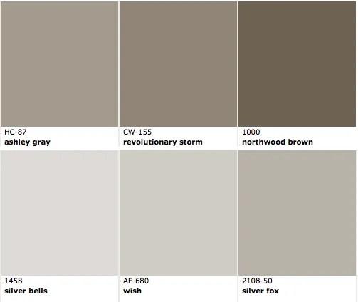 Favorite Brown Exterior paint colors